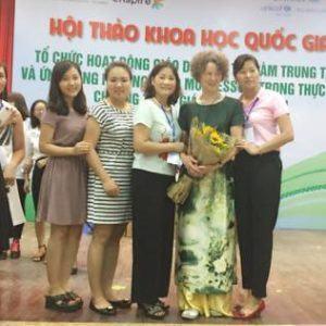 Giáo viên Trường mầm non R.E.D.moon tham gia Hội thảo khoa học, nâng cao kinh nghiệm