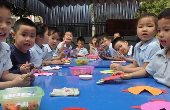 Bé khéo tay 2018 – Bé đảm đang cùng các bé R.E.D.moon